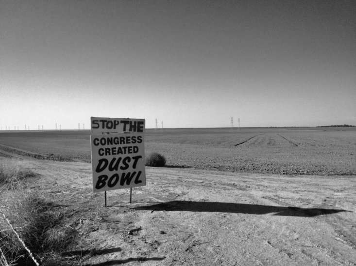 Dust Bowl People Land